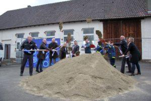 Spatenstich zur neuen THW-Unterkunft Riedlingen (2)